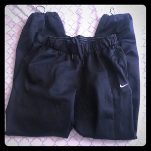 Women's Nike Sweatpants Black Inner fleece